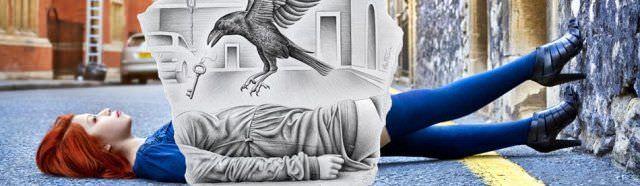 Gente NPLC – Ben Heine (Creatividad & papel)