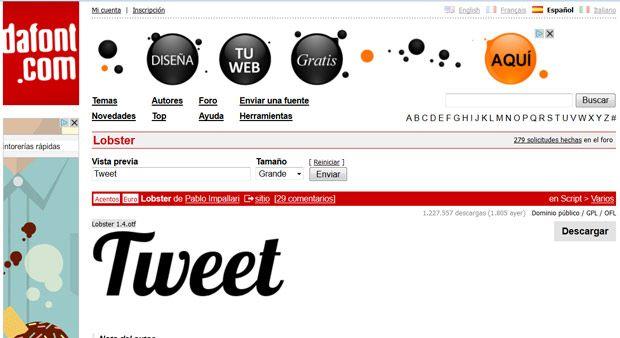 dafont fuente tipografia descargar