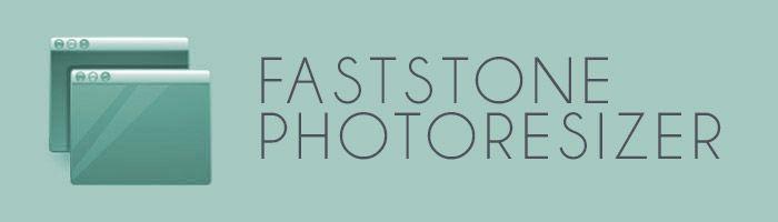 Cambiar el tamaño de las imágenes con Fast Stone Photoresizer