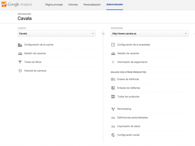 Como enlazar Adwords y Analytics - Paso 2