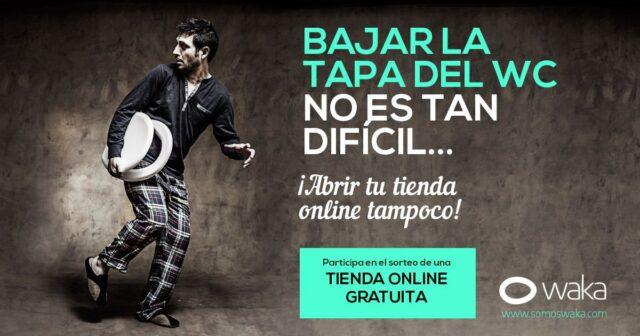 Sorteos Online - Campaña Tienda Online Gratis Waka 2014