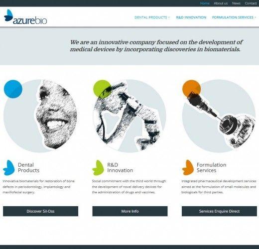 azurebio web