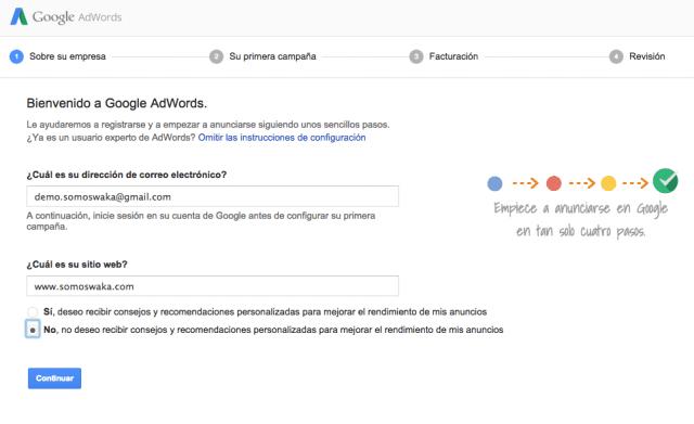Como abrir cuenta en google adwords эффективная реклама на яндексе своими руками