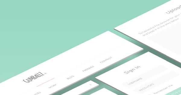 Gumballz-Web-UI-Kit