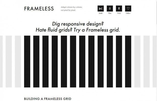 Grid Responsive FRAMELESS