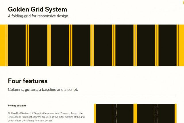 Grid Responsive GOLDE GS