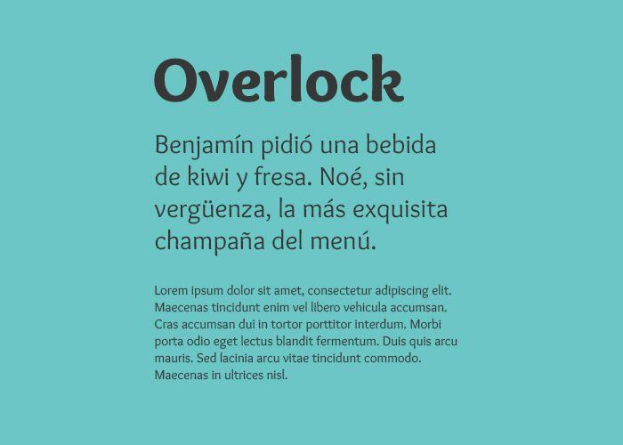 descargar tipografia gratis overlock