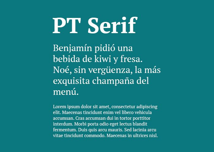 tipografias gratis pt serif