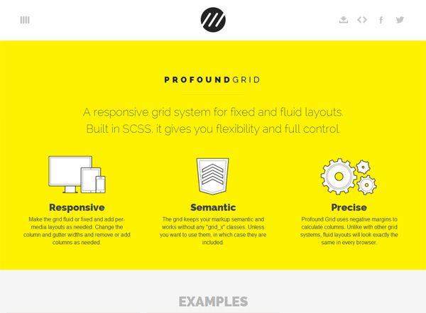 Grid Responsive PROFOUND GRID