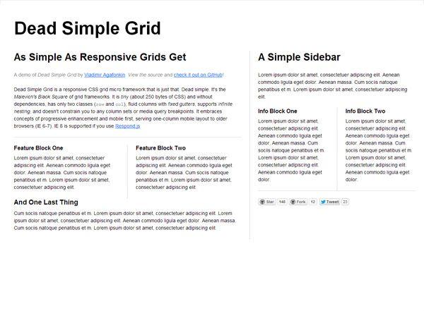 Responsive Grid DEAD SIMPLE