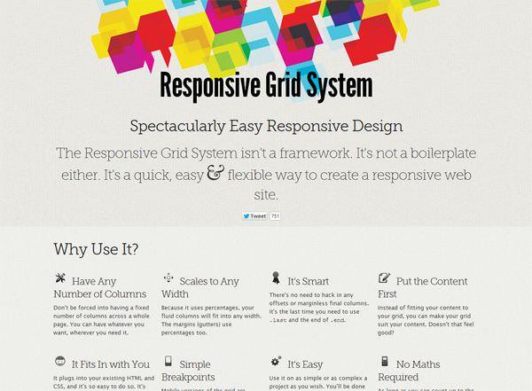 Grid Diseño Responsive RSG