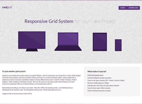 Grid Responsive RWD GRID