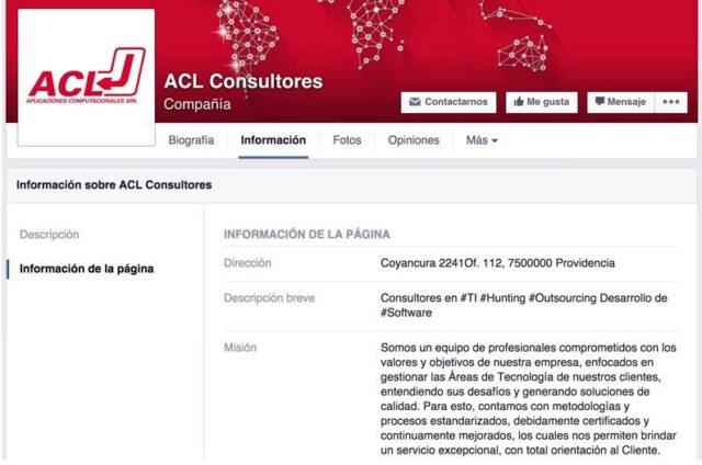 ACL.cl, Consultora TI en Chile