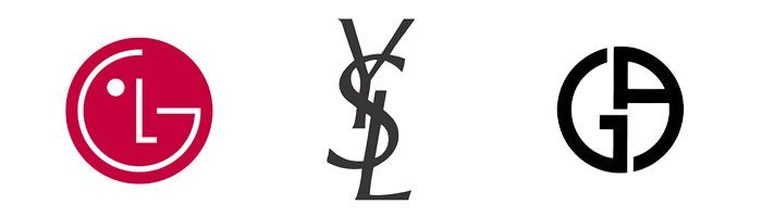 logos-para-empressas-monograma-lg-yves-armani