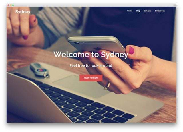 plantillas-para-blogs-sydney-wordpress-tema