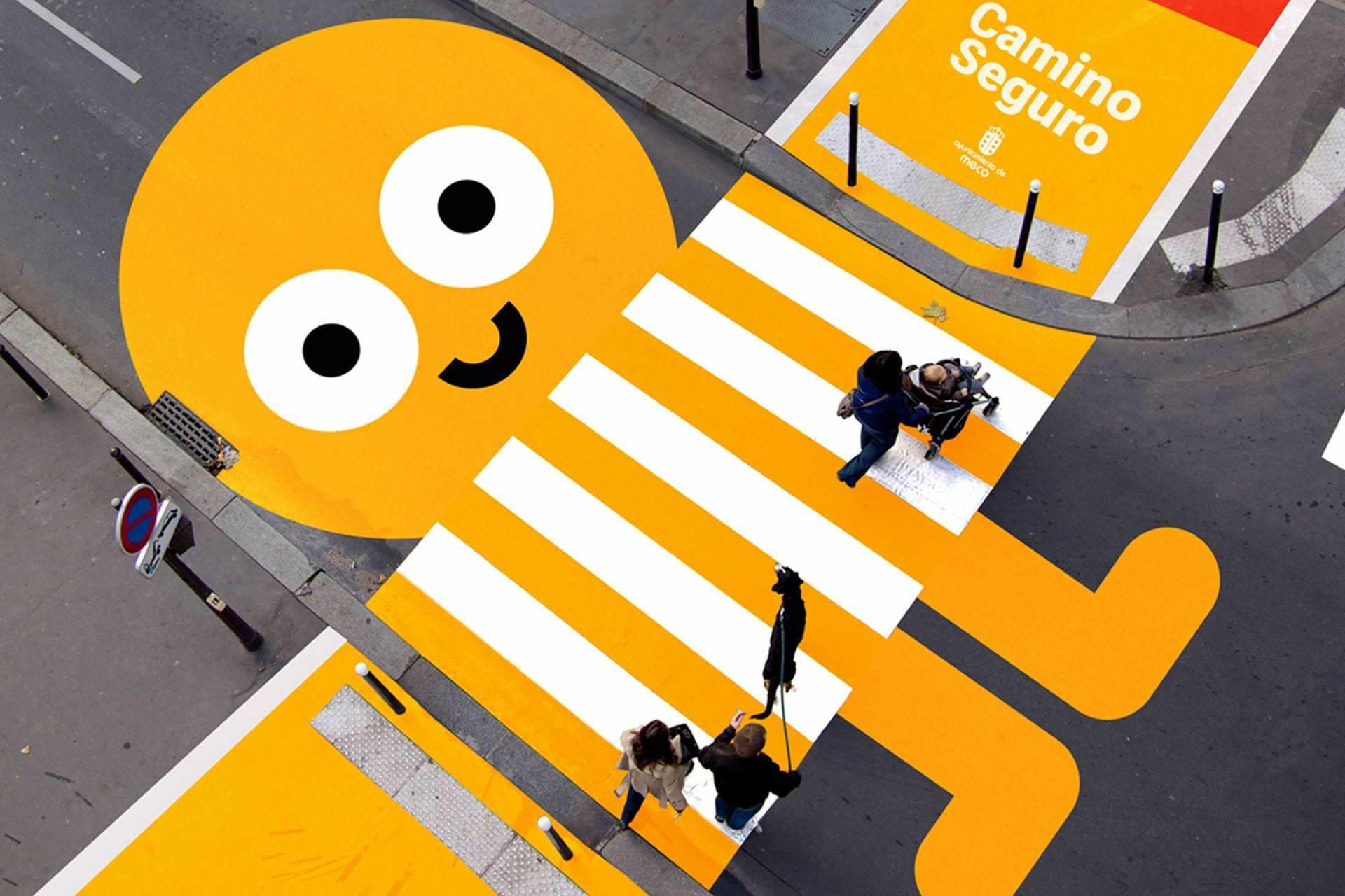 Creatividad para señalética escolar, Ayuntamiento de Meco