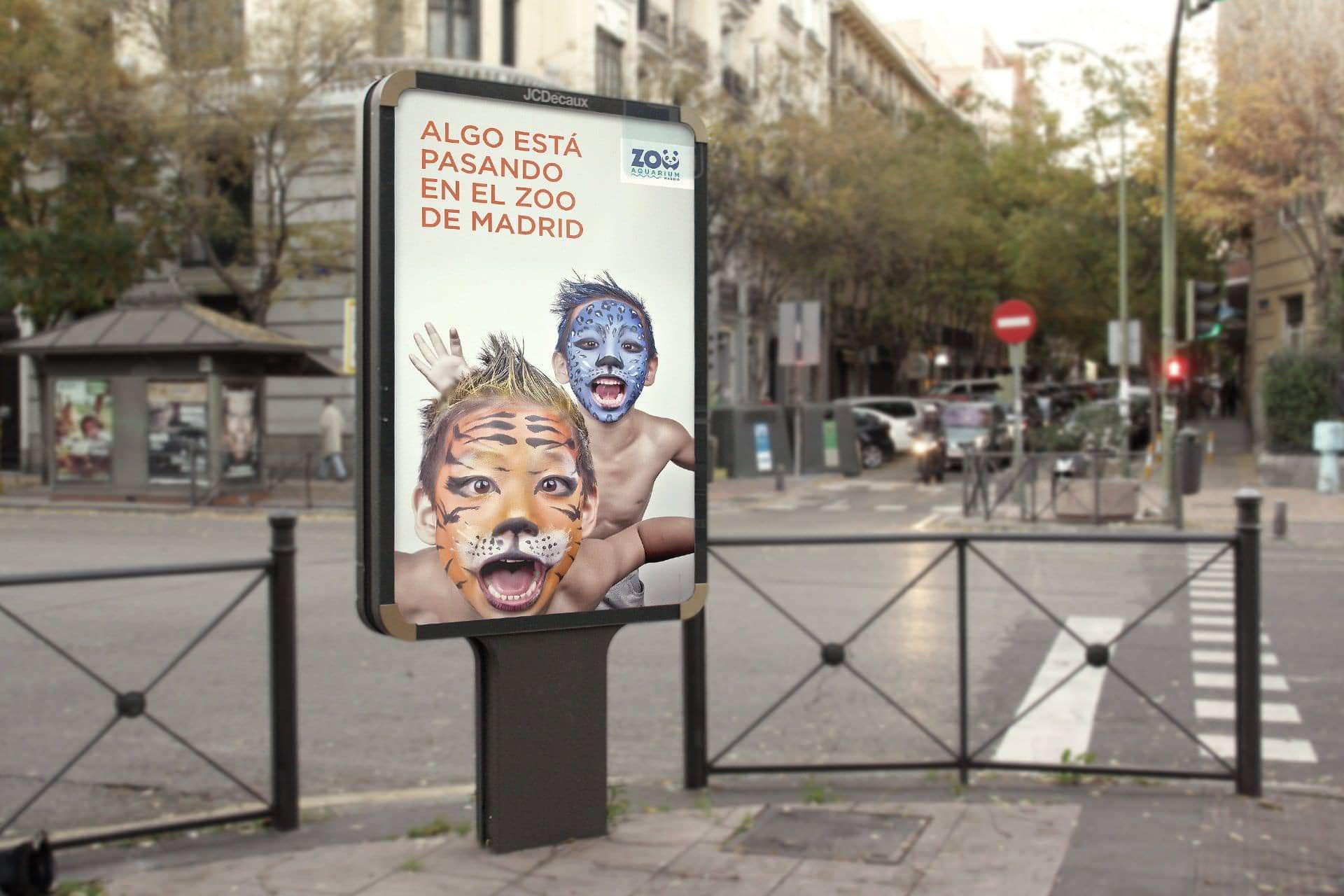 Propuesta de campaña creativa para el Zoo Aquarium de Madrid