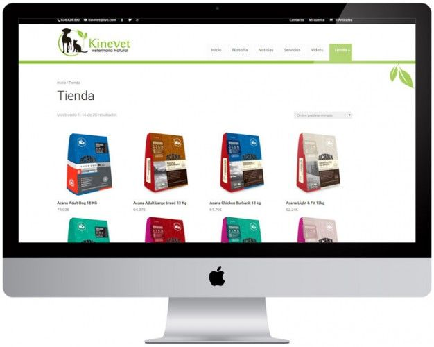 kinevet-tienda-virtual-wordpress