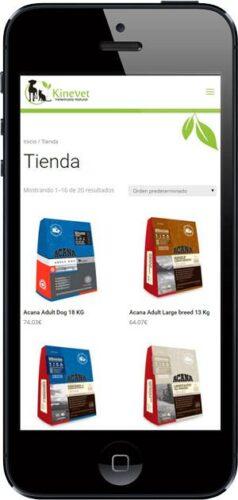 kinevet-tienda-online-wordpress-responsive