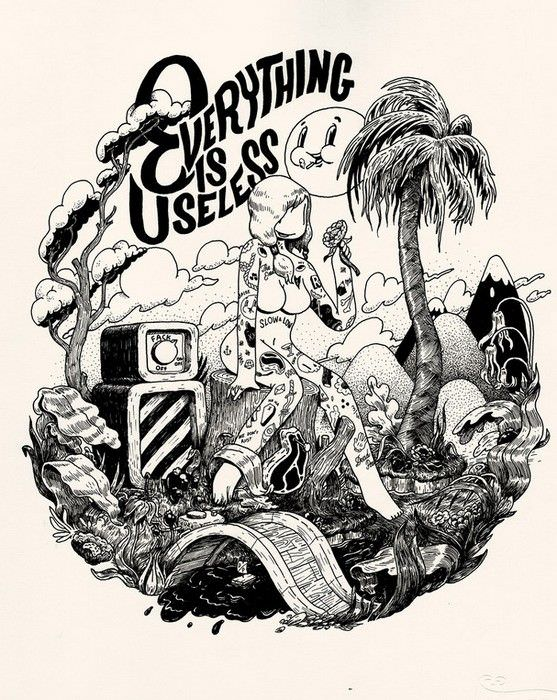 everything-is-useless-ilustrador-mcbess