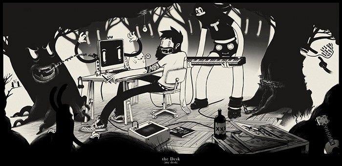 my-desk-mcbess-ilustrador