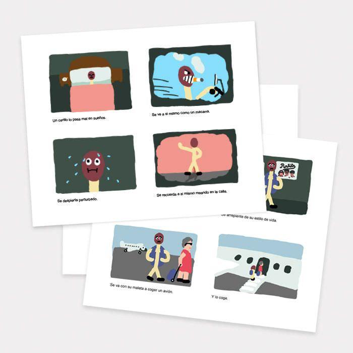 story-board-animacion