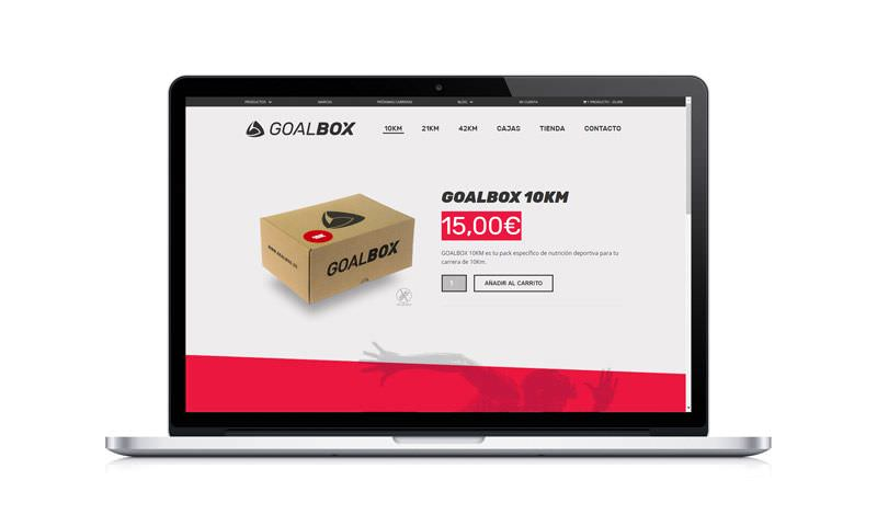 diseño tienda online de wordpress goalbox 2