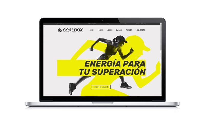 diseño tienda online de wordpress goalbox