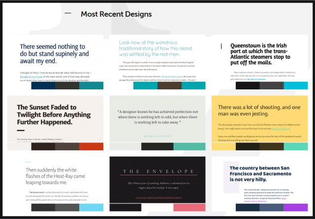 Typespiration herramienta para elegir tipografías online