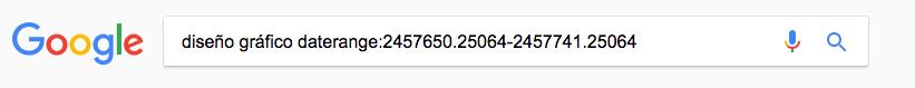 Comandos de Google_fechas