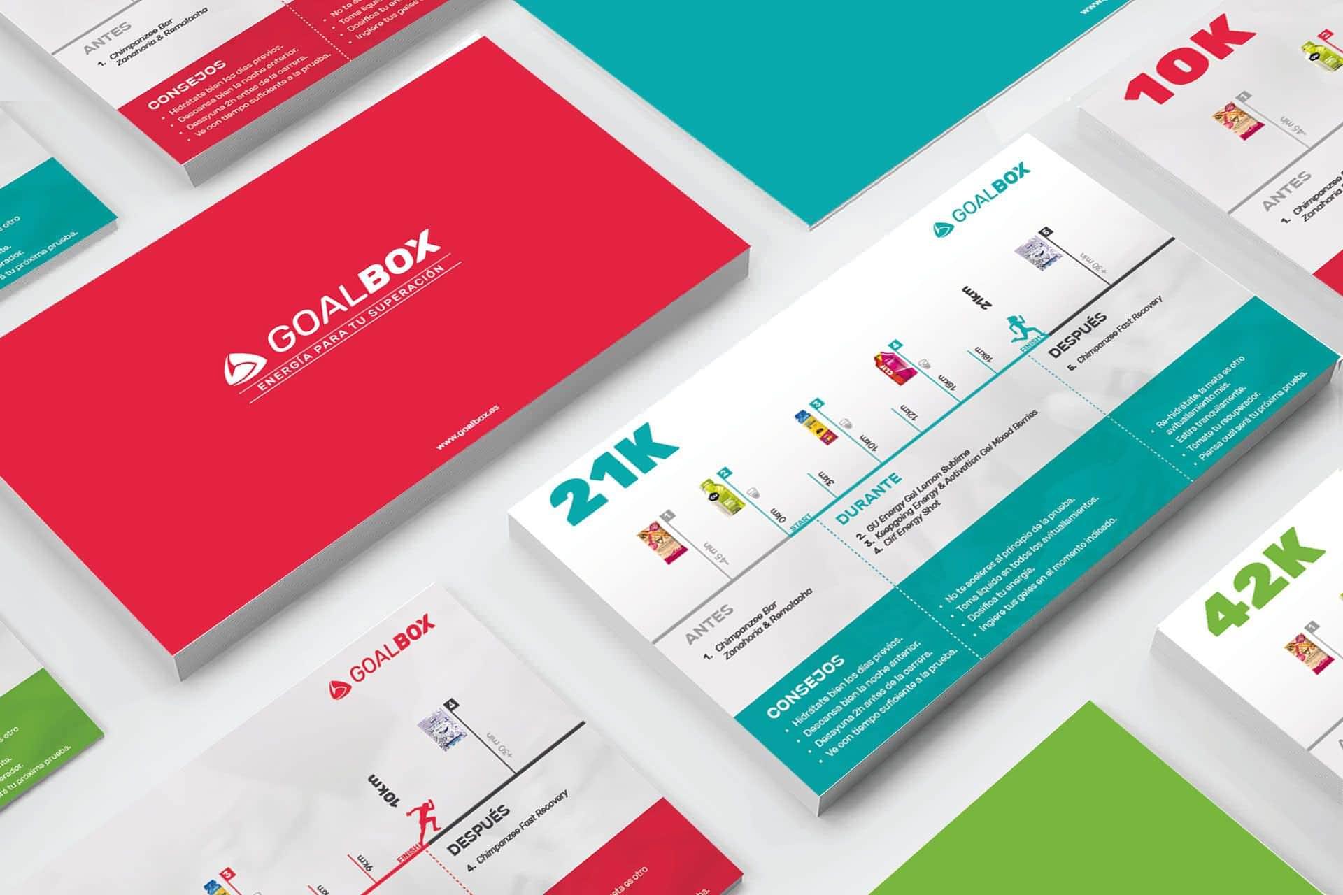 Diseño de tarjetones informativos y flyers publicitarios