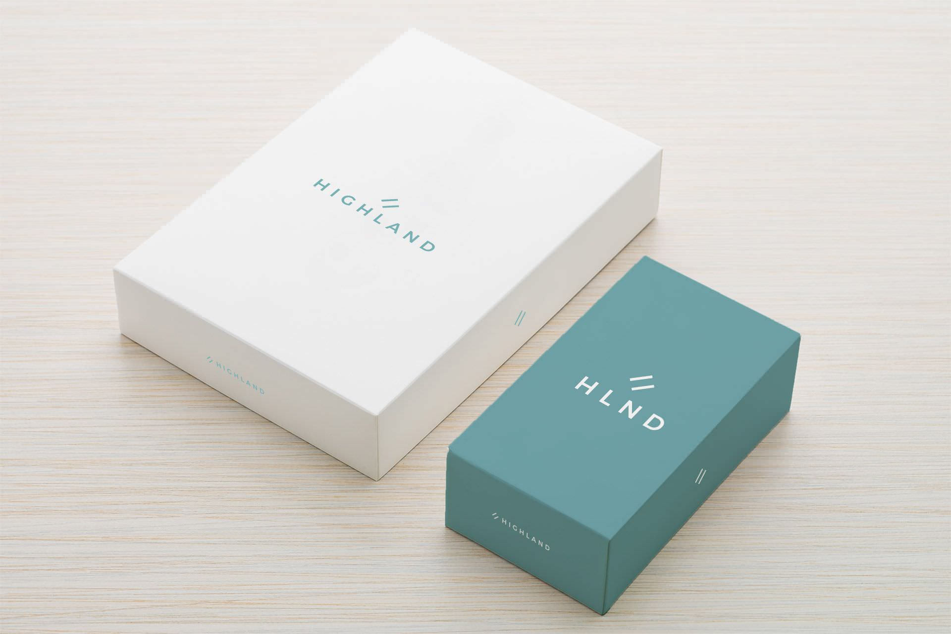 Diseño de packaging para Highland