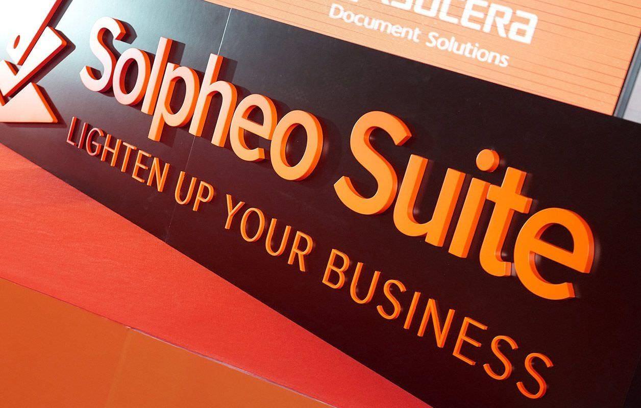 Corpóreo del logotipo de Solpheo Suite