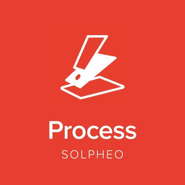 Logotipo soluciones Solpheo Suite Process