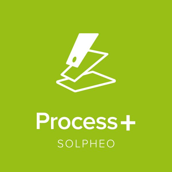 Logotipo soluciones Solpheo Suite Process+