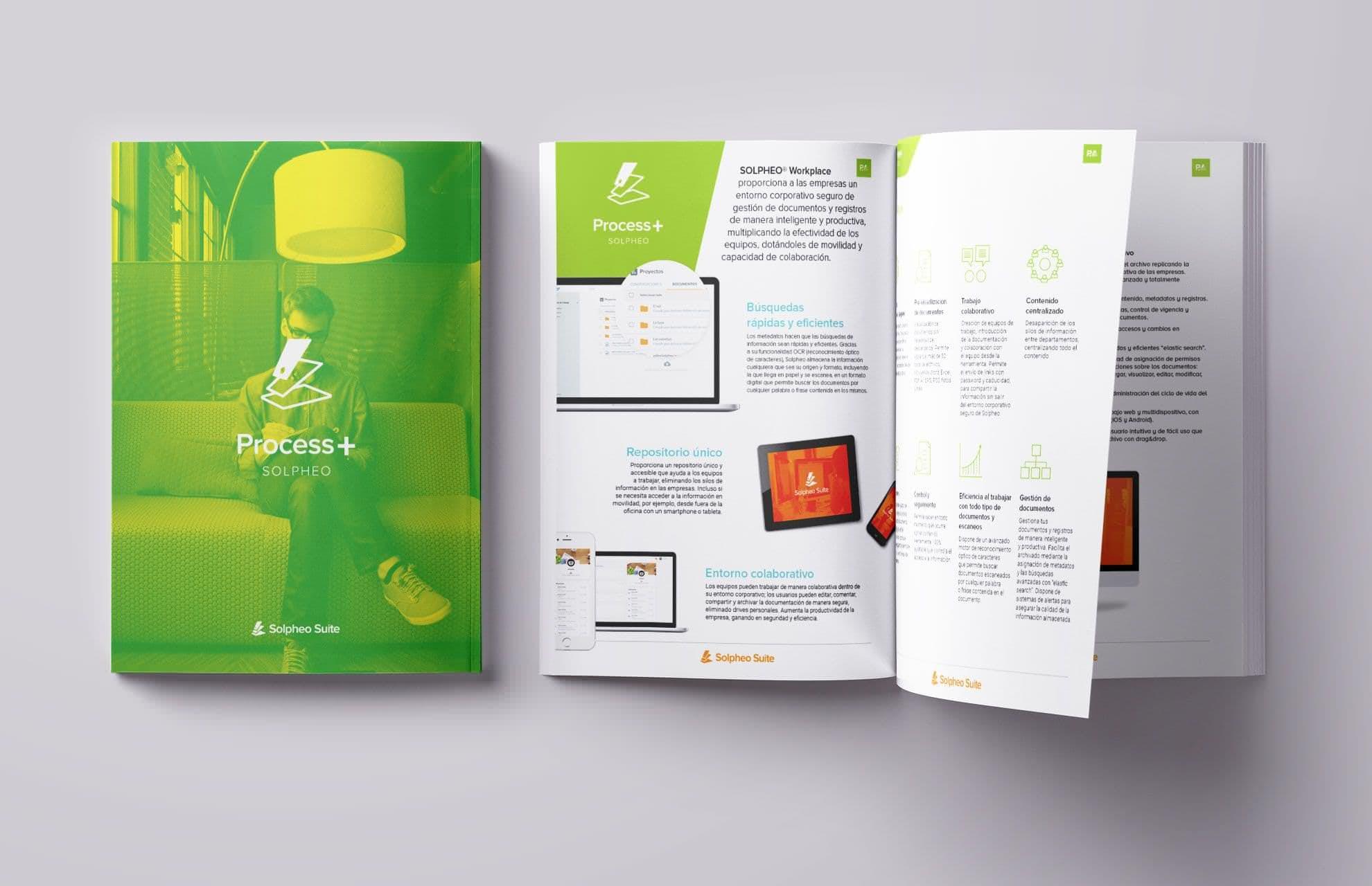 Diseño de datasheet para Solpheo Suite