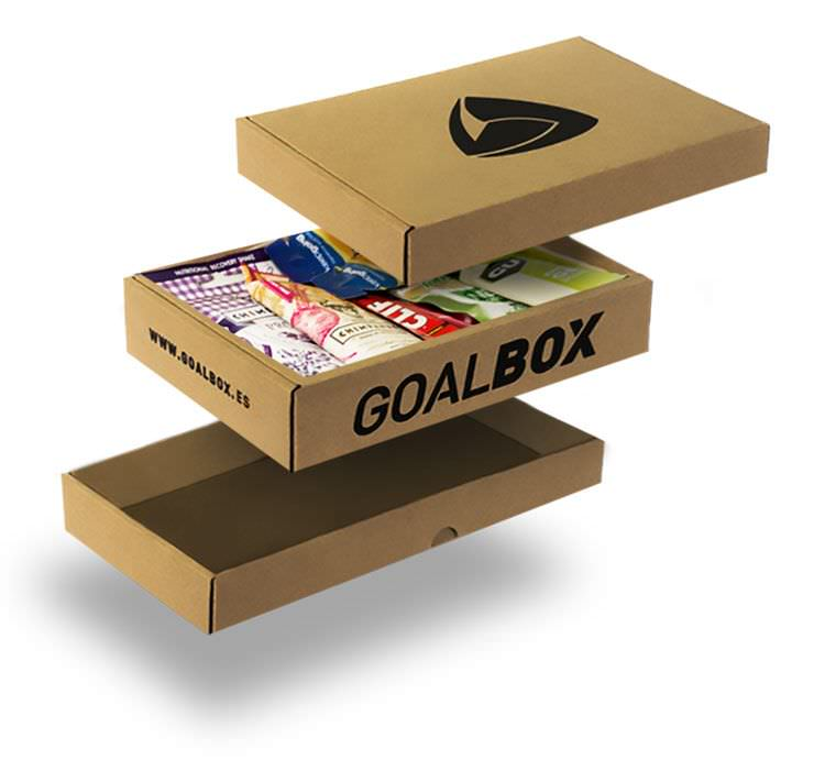 GoalBox packaging agencia waka