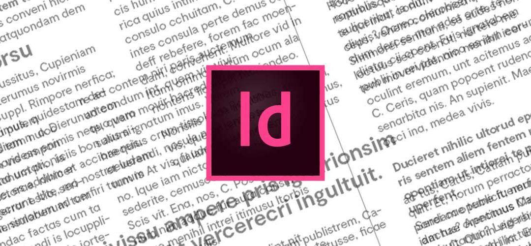 Tutorial de Indesign: estilos de párrafo y de caracter