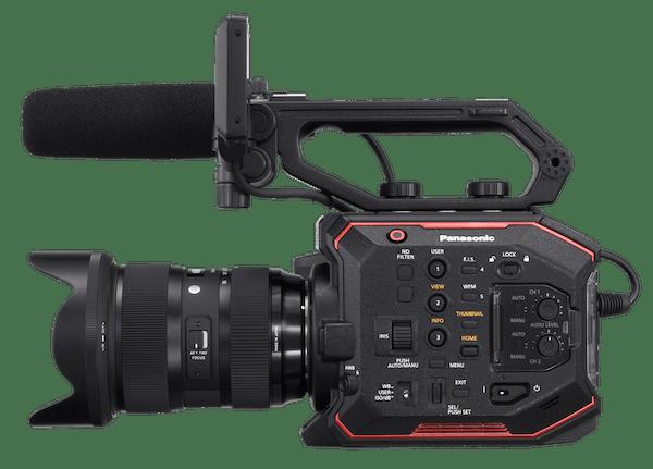 Camara de cine 4K Panasonic AU-EVA 1
