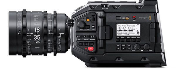 Camara de video 4K profesional Blackmagic Ursa MIni Pro