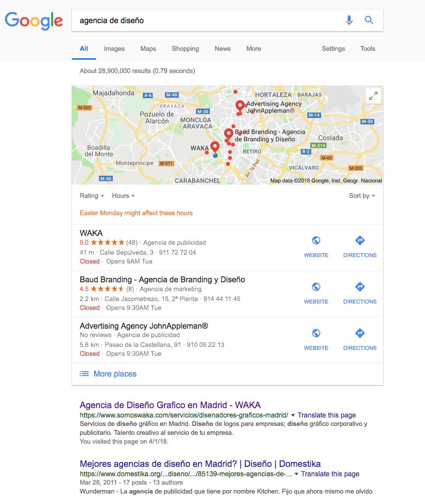 Dar de alta Google MyBusiness para SEO local