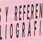 Citas y referencias bibliográficas