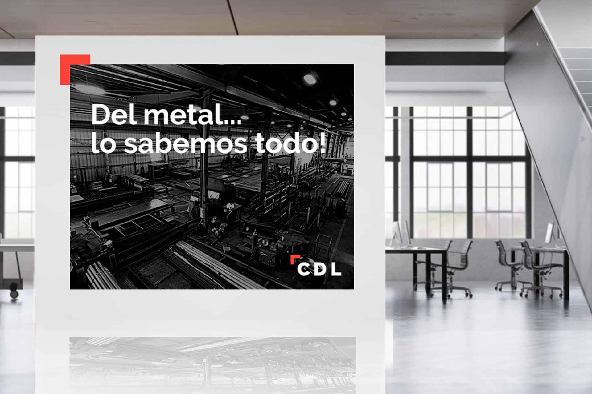 Aplicación de la marca en rotulación para CDL