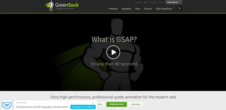 programas de animación html5_greenshock