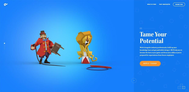 ejemplo animaciones web_supremo academy