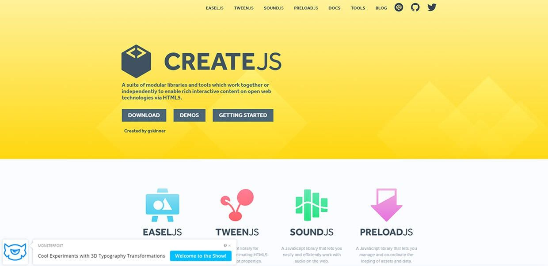 programas de animación html5_create js