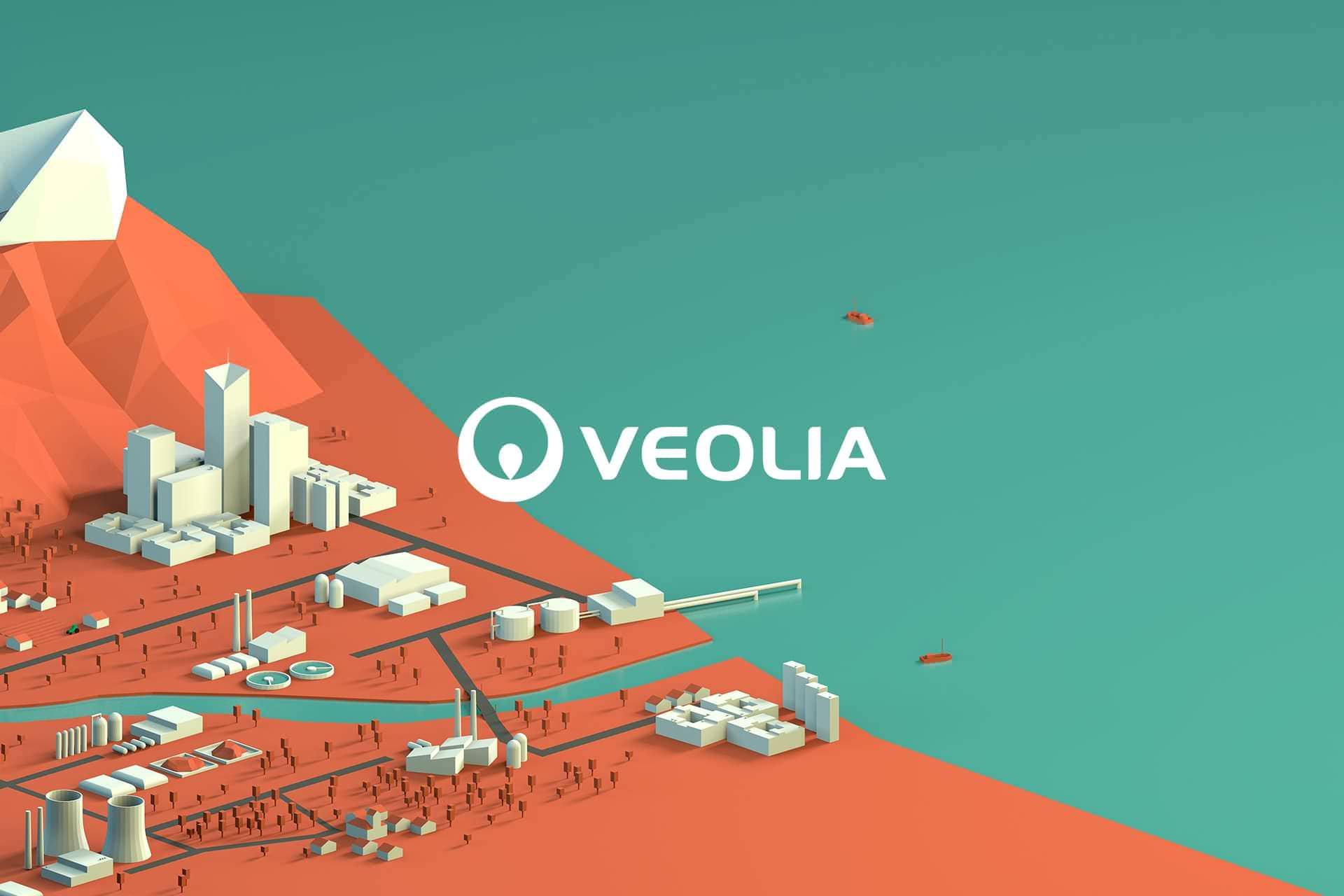 Agencia creativa y de publicidad waka: proyecto Veolia, 2018