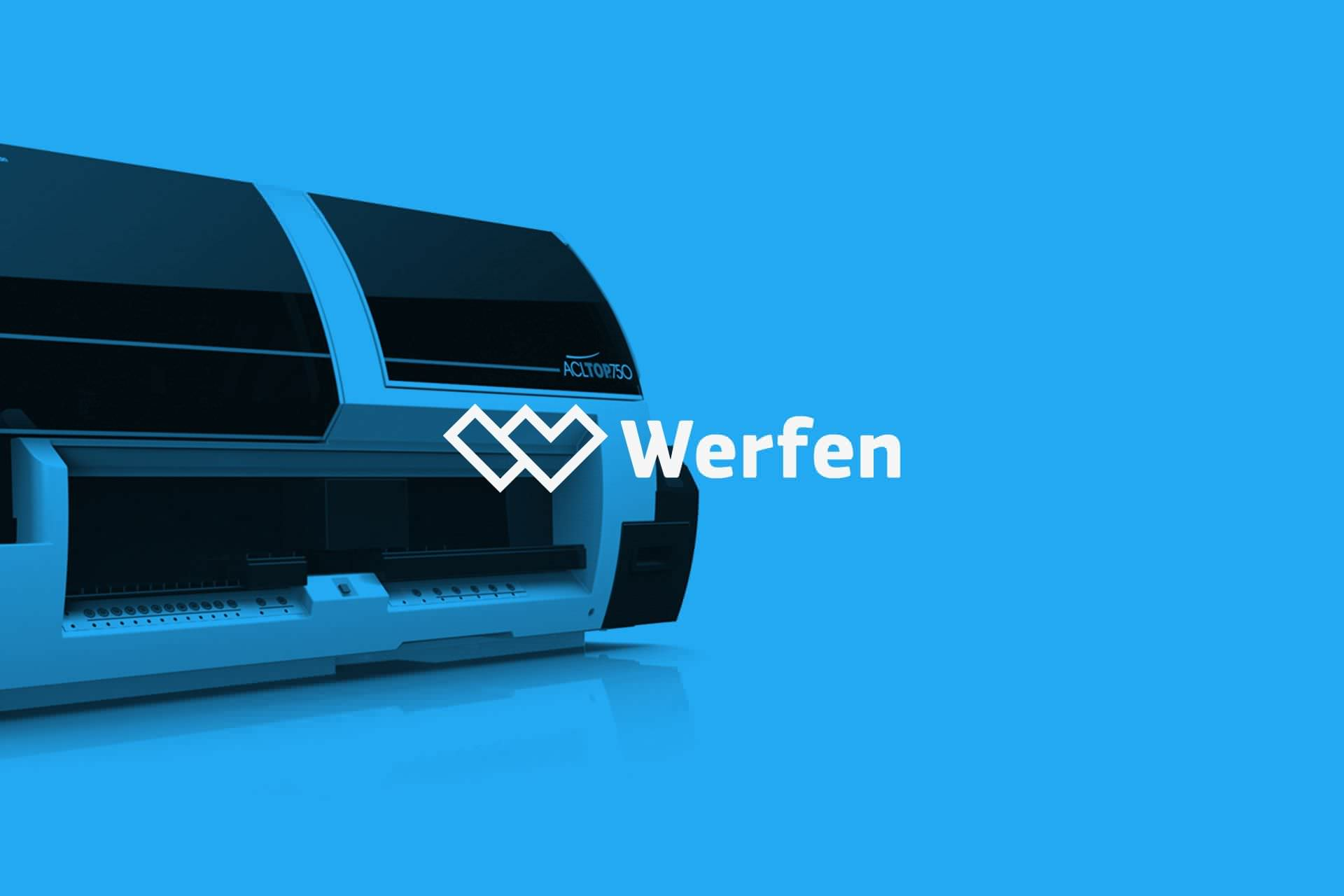 Waka digital agency: user experience design work for Werfen, 2017