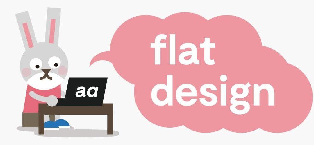 Flat design: origen y aplicaciones