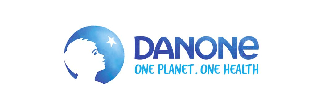 ejemplo tagline de la marca Danone